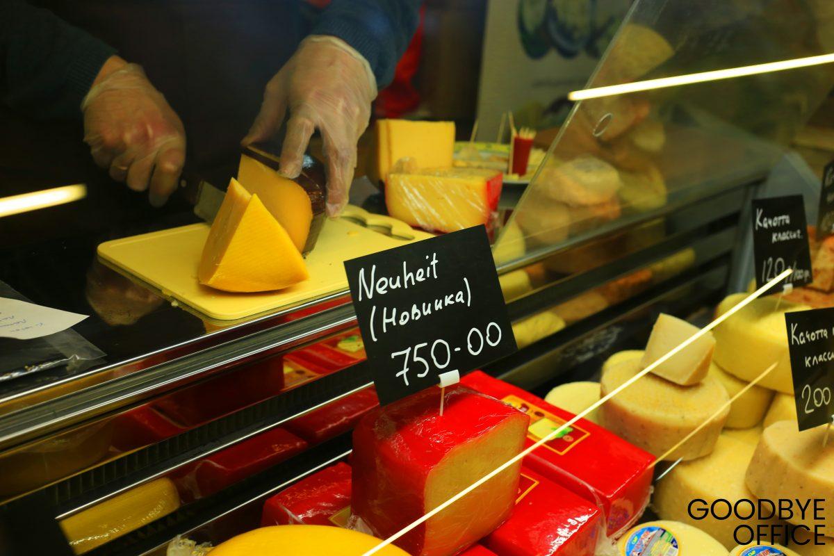 Ярмарка крафтового сыра на Флконе.