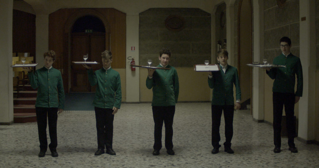 still from the movie boy with a tray